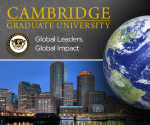 4Quartersonline.com is sponsored by Cambridge Graduate University
