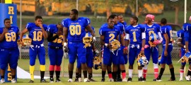 Rickards finished the 2011 season with a 1-9 record. The Raiders will look to rebound in 2012 under coach Lewis.