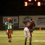 NFC Travis Blanks #8 and FAMU Leonard Barrington #24