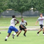 Jefferson receiver makes move on Chiles defense