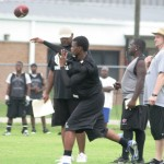 West Gadsden QB throwing deep