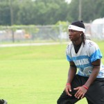 East Gadsden defender getting ready